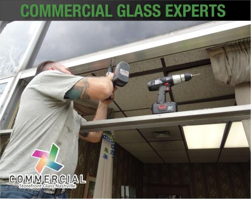 commercial storefront glass nashville window replacement 81