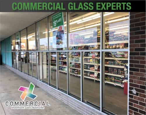 commercial storefront glass nashville window replacement 82