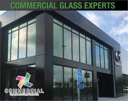 commercial storefront glass nashville window replacement 89